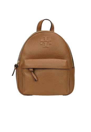 TORY BURCH brown Tory Burch Thea Mini Leather Backpack 78711 Brown B991AACEB21D6BGS_1