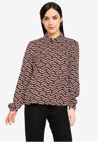 ONLY black Leanor Shirt 7BF8DAA4C90E9FGS_1