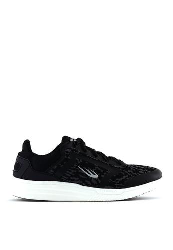 World Balance black Quick Strike MS Running Shoes CF5CFSHA0B5BCBGS_1