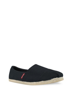 Jack & Jones Espadrille Canvas Anthracite Slip Ons S$ 49.00 NOW S$ 43.90  Available in several sizes