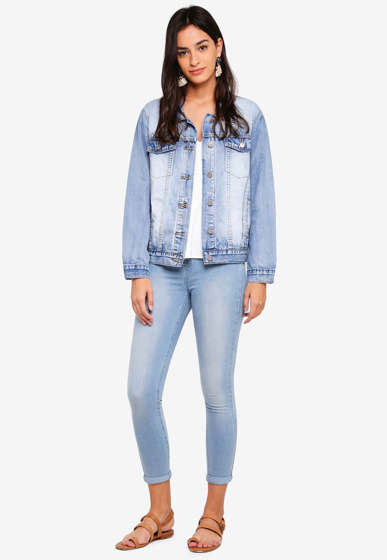 Blue Jeggings BASICS Light ZALORA Denim InHCwxqnR8