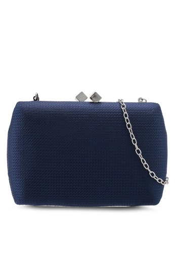 Papillon Clutch blue Magneted Clutch 6636BAC7E36B3BGS_1