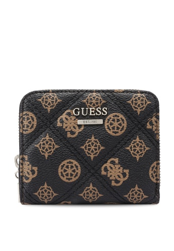 Guess brown Cessily Sling Small Zip Around Wallet 8C262AC9319584GS_1