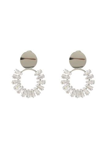 ALDO silver Gaddes Pierced Earrings 78DB9AC98C200FGS_1