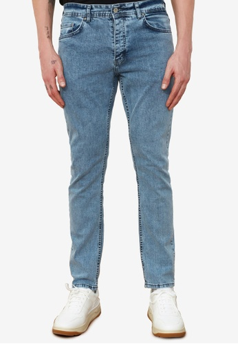 Trendyol blue Washed Skinny Fit Jeans F27C5AA82E4D06GS_1