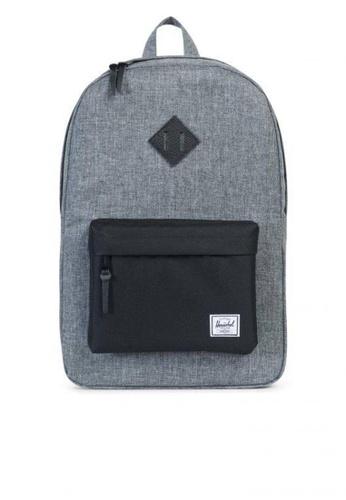 Herschel grey Backpack Heritage Raven Crosshatch 28418AC326D004GS_1