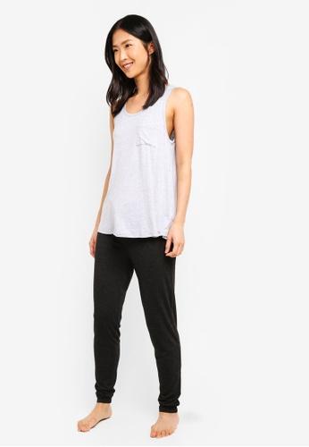 c040f2051bdb Shop Cotton On Body Sleep Recovery Pocket Tank Top Online on ZALORA ...