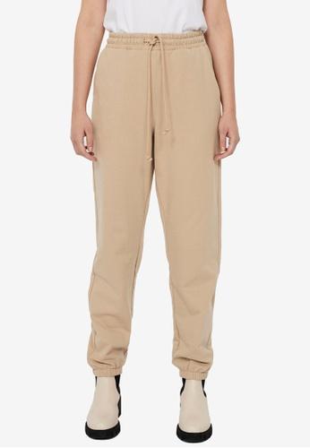 Vero Moda beige Octavia High Waist Sweatpants 00C5FAA9BBD65EGS_1