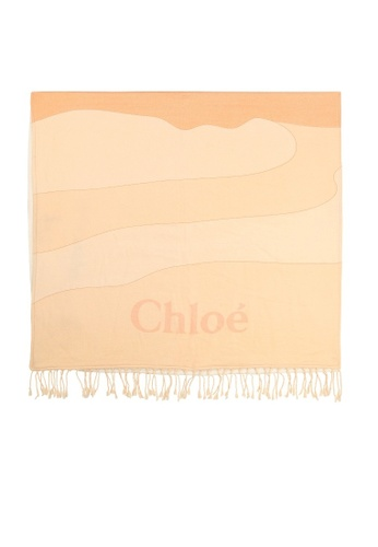 Chloé brown CHLOE GIRLS SHAWL 5036AKCE21D18CGS_1