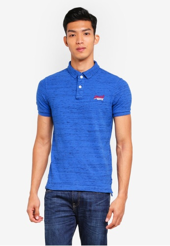 Superdry multi Classic Short Sleeve Pique Polo Shirt D333CAA1BF2B8AGS_1
