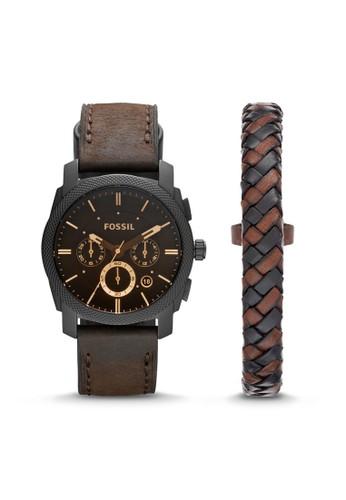 Fossil  MACHINE率性男錶 FS5251Sesprit台灣ET, 錶類, 時尚型