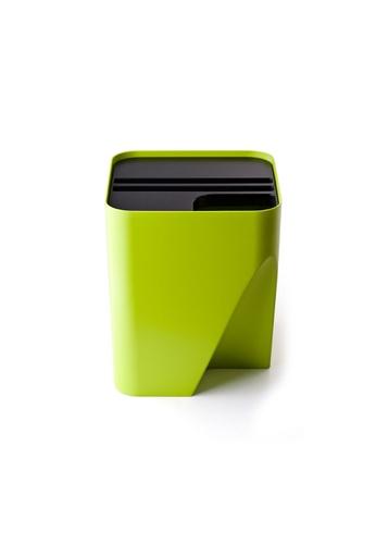 Qualy Qualy Block 30 Recycling Bin (Green) C21CDHLB410A88GS_1