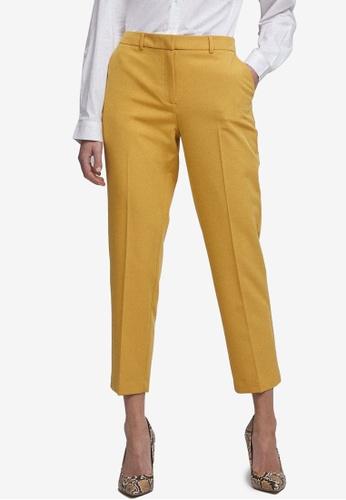 Dorothy Perkins orange Ochre Ankle Grazer Trousers 61276AA3B095CBGS_1