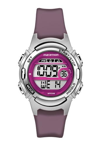 TIMEX purple Timex Marathon® - TW5M11100 TI205AC0RETIMY_1