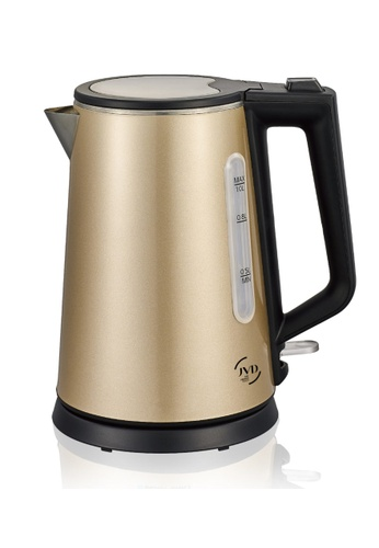 JVD JVD Lifestyle Saisons 1 liter double wall kettle, Sand Gold 6D7CFHL300CA1AGS_1
