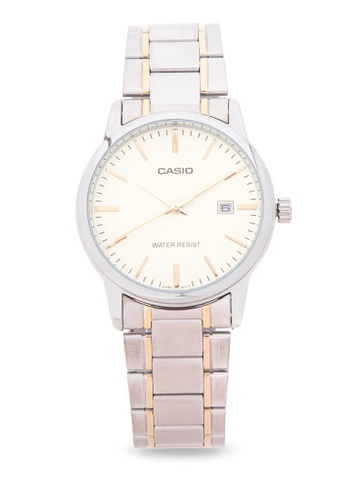 Casio silver Analog Watch MTP-V002SG-9A CA076AC91LSQPH_1