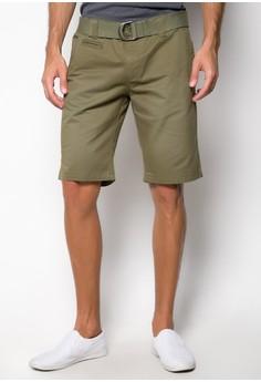 Walking Shorts with Belt