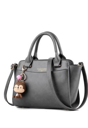 TCWK grey Ladies Handbag TC258AC00YRNMY_1