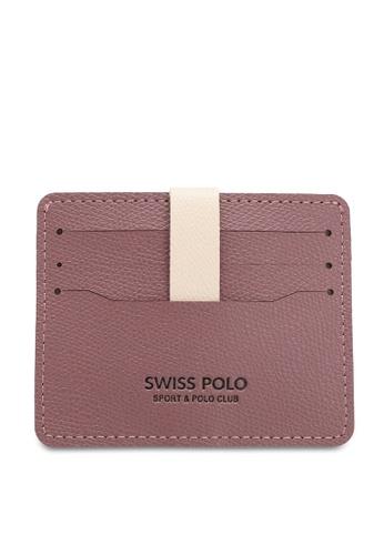 Swiss Polo purple Casual Card Holder FEDEAAC8681EE3GS_1