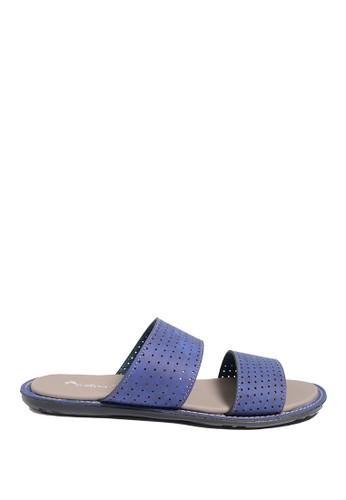 Dr. Kevin blue Dr. Kevin Men Sandals 17217 - Blue DR982SH0US9SID_1