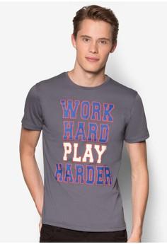 Work Hard Play Hard Graphic T-Shirt