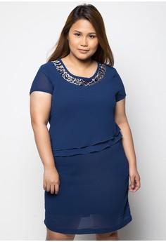 Short Sleeve Plus Size Dress