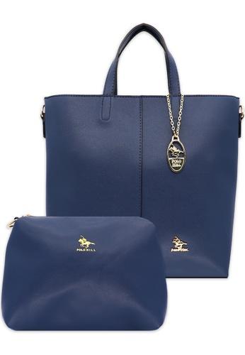 POLO HILL blue Polo Hill Set Handbag 6C4F6AC0B77016GS_1