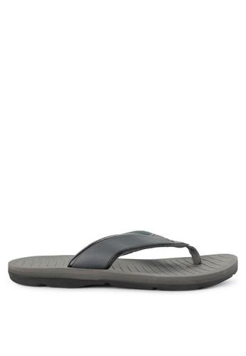 No Fear grey Sprinter - Regular Fit Super Sandals DAA2CSH5F30856GS_1