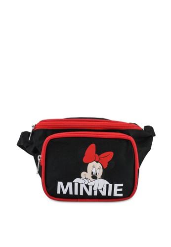 LC Waikiki black Girl's Minnie Mouse Printed Waist Bag 04C91KC77C7134GS_1