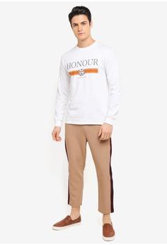 Topman White Long Sleeve Honour T-Shirt S$ 43.90 NOW S$ 21.90 Sizes S M L XL