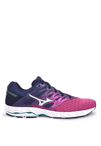 Mizuno purple Wave Shadow 2 Running Shoes E5451SH210A82DGS_1
