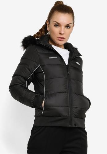 Ellesse black Nouelle Padded Jacket 1BC62AA462996FGS_1