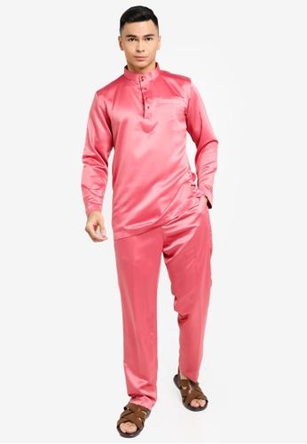 REALFANTASY pink BAJU MELAYU SHAH ISKANDAR DFD36AA7A746DEGS_1