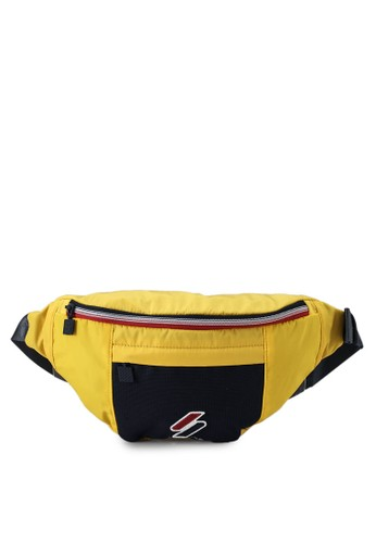 Superdry yellow Sport Style Bumbag 7B79BAC5D1E643GS_1