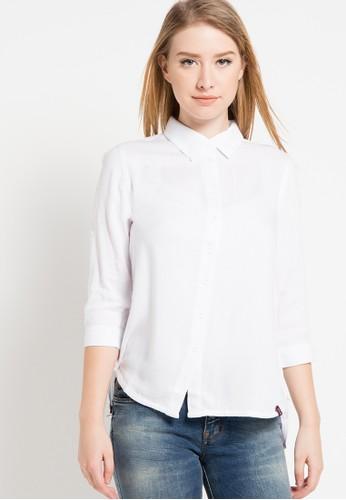 ako jeans white AKO JEANS Shirt White Krano AK909AA33IZIID_1