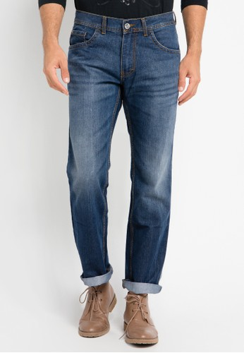 Watchout! Jeans blue Straight Relax Jeans Pants WA971AA0UIU2ID_1