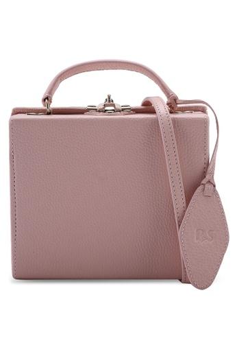 Pop & Suki pink Box Bag 357CEAC6D334E5GS_1