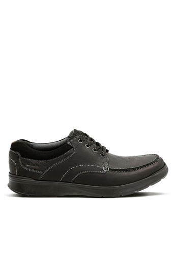 Clarks CLARKS Cotrell Edge Black Oily Leather E9810SH6859CA8GS_1