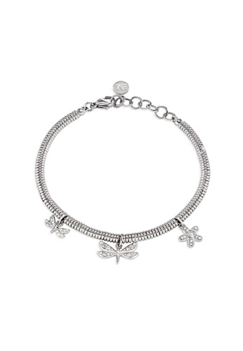 Morellato silver Ninfa Bracelet SAJA10 Stainless Steel Crystals 4BE31ACF6AB5C4GS_1