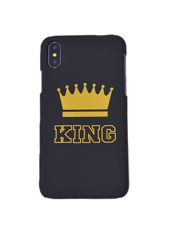 Fancy Cellphone Cases black King Hard Case for iPhone X 5C1F8AC1BF41EAGS_1