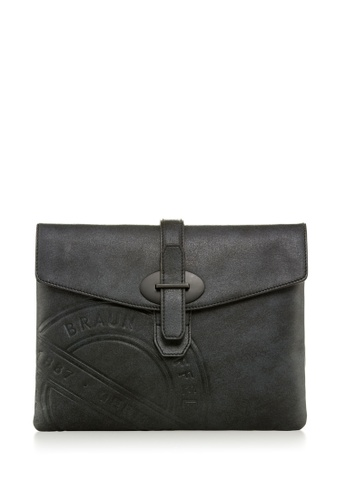 Braun Buffel black REYNOLDS CLUTCH 1D538AC4AB2D9FGS_1
