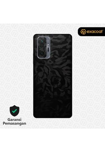 Exacoat Redmi Note 10 / 10 Pro Skins Camo Series - Black Camo 90EB4ES71F3FFDGS_1
