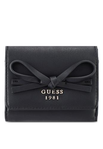 Guess black Leila Card & Coin Purse 2CE72ACA33BE91GS_1