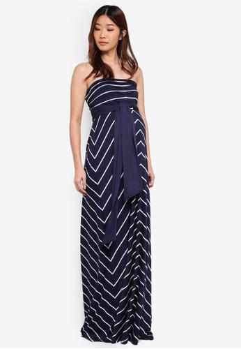 Envie De Fraise navy Maternity Freya Dress CE852AA45D354FGS_1