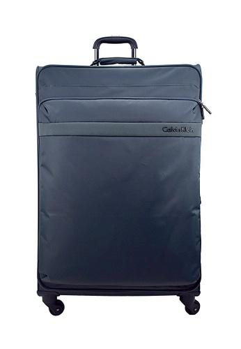 Calvin Klein grey Calvin Klein Flatiron 2.0 20 Inch Spinner  Hard Case Luggage E78DEAC2FA38C9GS_1