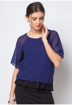 Kish Butterfly Sleeves Top