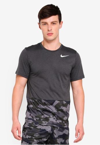 fc24f9a69e65 Buy Nike Nike Men s Camo Training Top Online on ZALORA Singapore