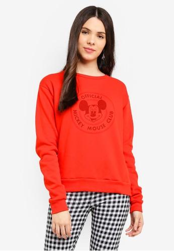 Cotton On red Ferguson Graphic Crew Sweater DD89BAA2D84AFDGS_1