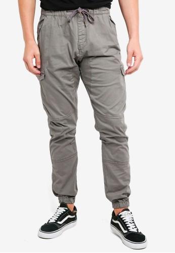 Indicode Jeans grey Lewi Cargo Drawstring Jogger Pants C23E3AA156C1C6GS_1