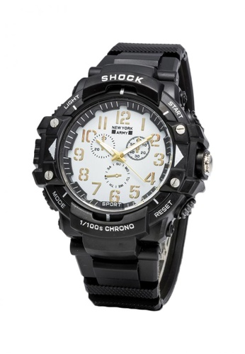 Greatvalueplus black and white Kiel 1351 Dial Standard Analog Men's Watch 6E34CACE75815EGS_1